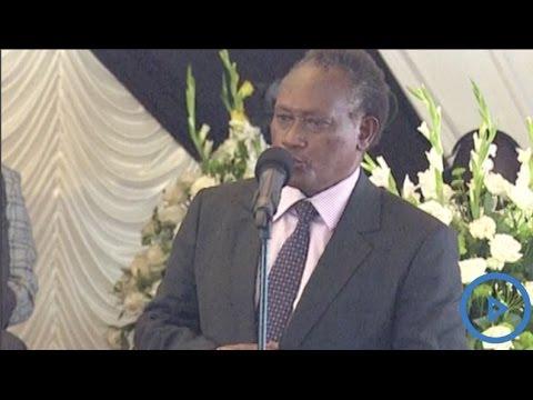 Newly installed governor Wamathai speech at Gachagua's burial