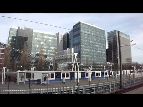 Amsterdam metropolitan station Zuid