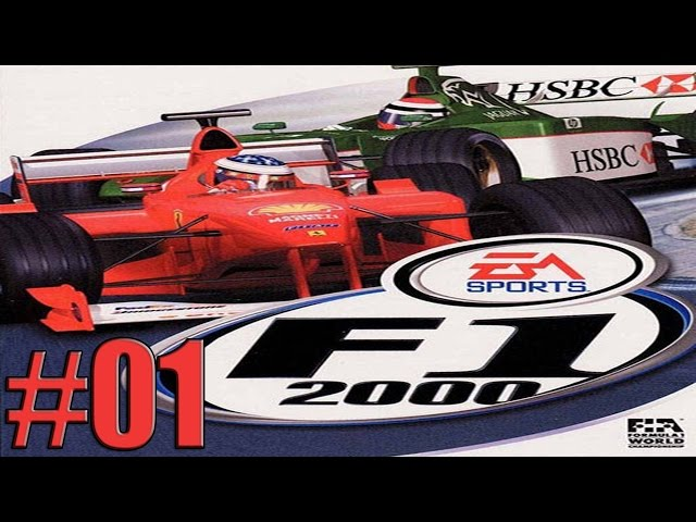 F1 2000 (PS1) - Gameplay ITA - Campionato - Let's Play #01 - Gara Australia