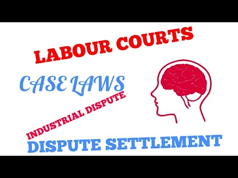 Part 4/Settlement of dispute/ Labour law/ Works committee// labour court/commissioner
