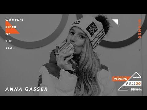 Anna Gasser: Women's Rider of the Year —TransWorld Snowboarding Riders' Poll 20