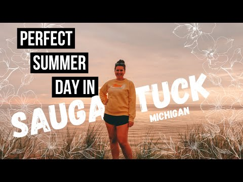 WHAT TO DO IN SAUGATUCK MICHIGAN | A Day at OVAL BEACH on LAKE MICHIGAN | BEST BEACH IN MICHIGAN?