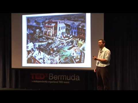 Graham Foster - Method in the madness, painting 400 years of history -TEDx Bermuda April 2011