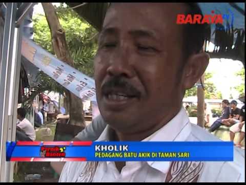 Pernik 2' Banten eps Sentra Batu Akik Taman Sari Kota Serang