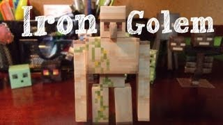 Papercraft - minecraft: Iron Golem