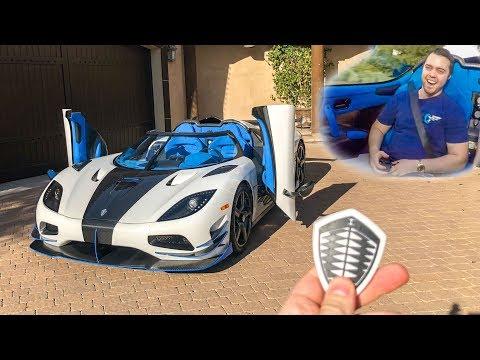 I GOT A RIDE IN MY $3 MILLION DREAM CAR!! *Koenigsegg Agera RS*