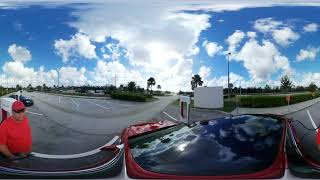 360 VR video - Ft. Drum, Florida Supercharger Review