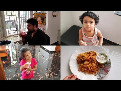 Lunch Routine Vlog - Easy Chicken Biryani Recipe - Juice To Increase Hemoglobin - YUMMY TUMMY VLOG