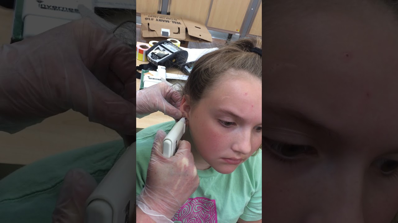Getting My Second Piercing At Walmart Youtube