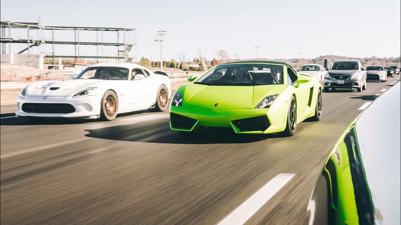 Exotic Car Drive in 1000 Horsepower Twin Turbo Lamborghini Gallardo! - Ghibli Central