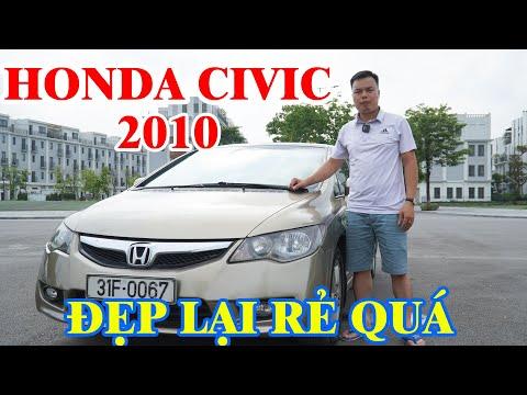 [Bán Thanh Lý Giá Rẻ] Honda Civic 2.0AT 2010 Số Tự Động | Xe Một Chủ Đi Còn Rất Đẹp Giá Nhỉnh 300 Tr