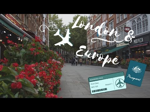 London & Europe Travel Vlog | Alicia Jade