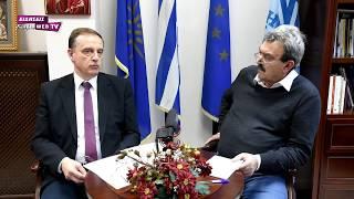 Πρώτη μεγάλη συνέντευξη του δημάρχου Παιονίας Κώστα Σιωνίδη - Eidisis.gr webTV