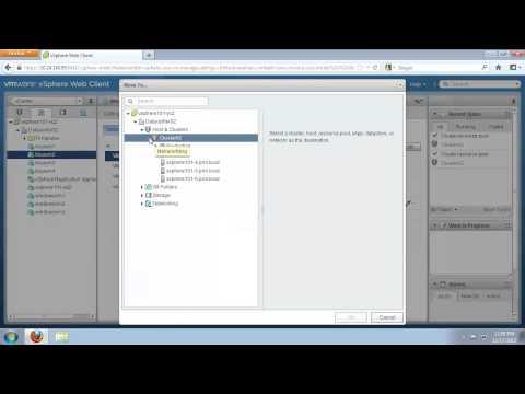 Configure Resource Pools for VMware vSphere (vSOM)