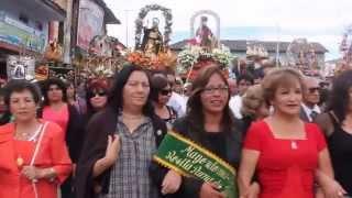 Fiesta de San Juan Bautista Patrón de Pomabamba 2014