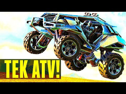 😢ALL YOUR DINOS ARE USELESS! TEK TIER VEHICLES! TEK ATV DUNE BUGGY FIRST LOOK! Ark Survival Evolved