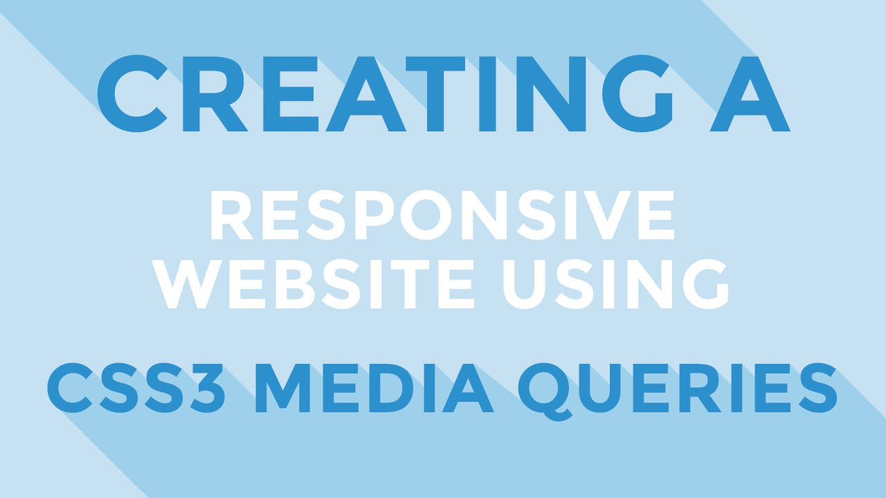 how to create responsive css