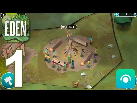 Eden: The Game - Gameplay Walkthrough Part 1 - Level 1-3 (iOS)
