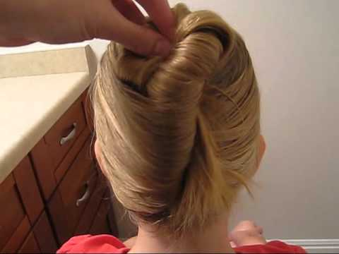 How To Use Goody Simple Styles Modern Updo Maker Youtube