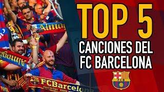 ESTO canta la HINCHADA del FC BARCELONA en el CAMP NOU | TOP 5 CÁNTICOS BLAUGRANAS