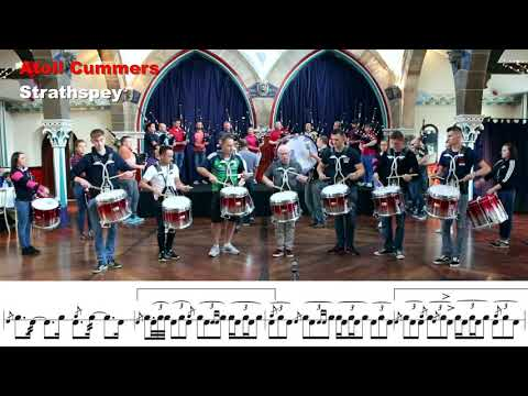 Bleary And District Pipe Band At The Oran Mor Pub
