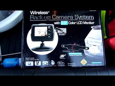 hqdefault installing vr3 wireless backup camera youtube vrbcs300w wiring diagram at creativeand.co