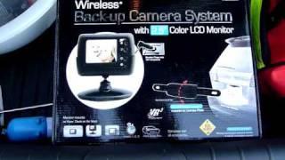 installing vr3 wireless backup camera