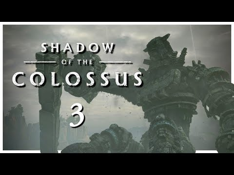 Let's Play Shadow of the Colossus Blind Part 3 - Gaius [PS4 Remake Gameplay]