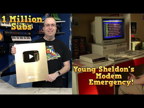1 Million Subscribers Special / Young Sheldon Modem Emergency!