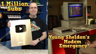 1 Million Subscribers Special Young Sheldon Modem Emergency