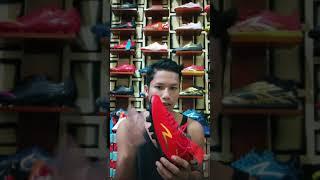 Sepatu bola specs murah accelerator Infinity  red grey original
