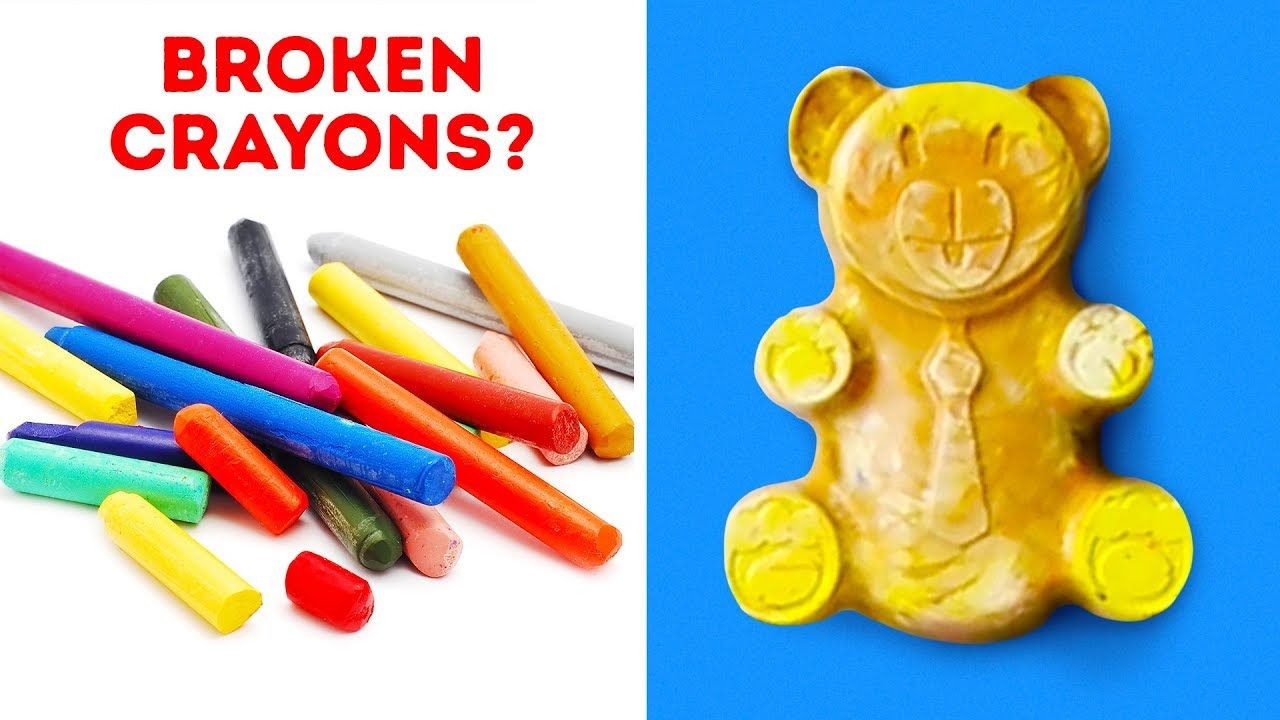 20 EASY IDEAS TO TRANSFORM OLD BROKEN THINGS INTO TOYS