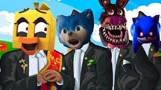 Sonic The Hedgehog&Fazbear and Friends SHORT& Sonic EXE &Five Nights at Freddy's—Coffin Dance Song