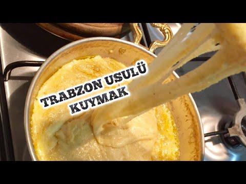 Trabzon Kuymak Yapılışı Videosu
