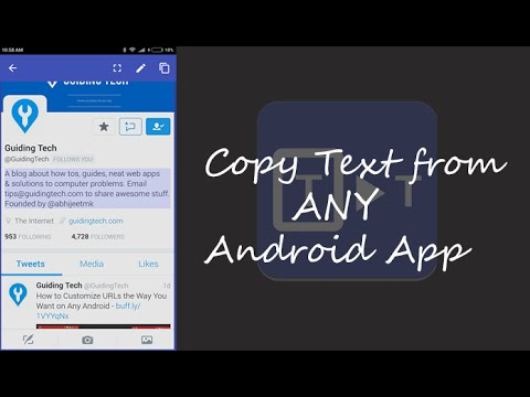 How to Copy  Paste Unselectable Text from Any Android App - YouTube