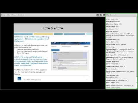 GSA PBS Client Enrichment Series - eRETA Boot Camp