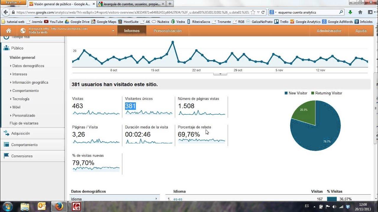 how to add youtube to google analytics
