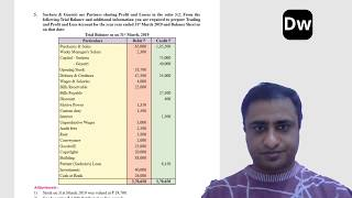 Lecture 8 - Partnership Final Accounts - Part 8 - Account - 12th Commerce - Maharashtra State Board