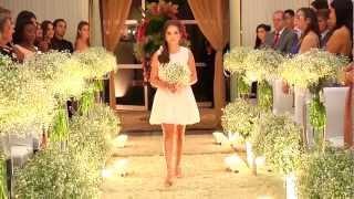 Entrada da noiva Claudia e Juliano_Digital Vídeo Produtora Goiânia_Maison Florency_Marcos Fellipe