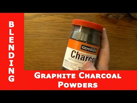 HOW TO Use Graphite Powder + Charcoal Powder + Blending Methods