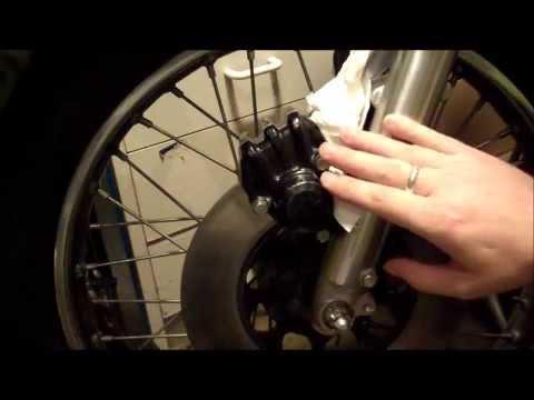Honda CB200 Front Brake Refurbish Part 2 of 2