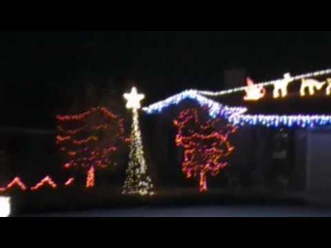christmas lights to music leroy the redneck reindeer - Redneck Christmas Lights