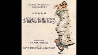 A Funny Thing Happened on the Way To The Forum 1996 Broadway cast