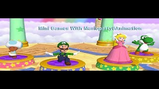 Mario Party 7 - Mini Games [TAS] With [MarioParty8Animations]
