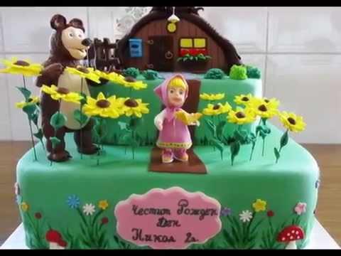 masha-and-the-bear-birthday-cake