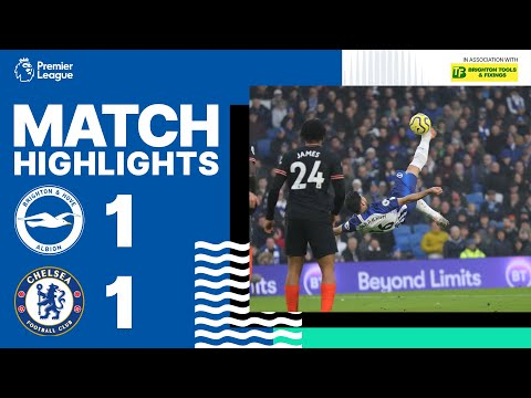 Brighton & Hove Albion 1 Chelsea 1
