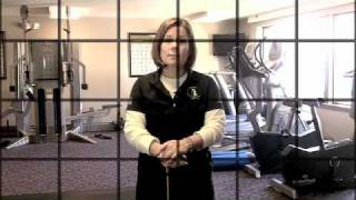 Golf Fitness Hip Internal Rotation Assessment