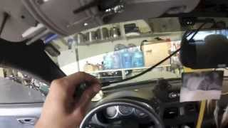 Installing a 7'' rear view mirror LCD w/ backup camera