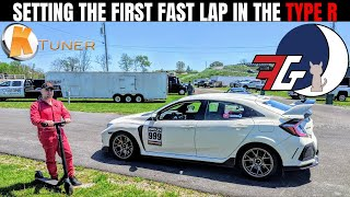 Civic Type R (FK8) RACING at #GridLife Time Attack | Setting a FAST Lap Time! Session 1 Part 2
