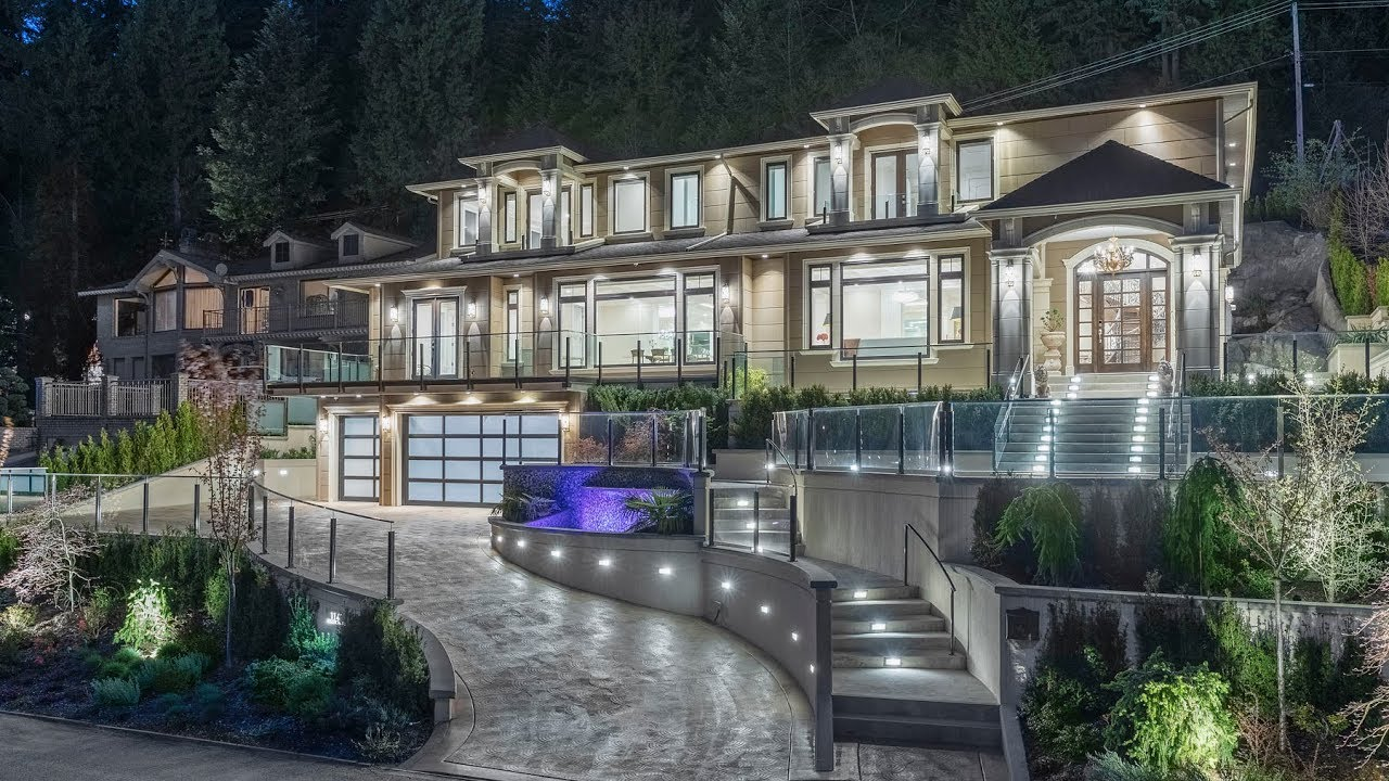 West Vancouver Luxury Dream Home Youtube
